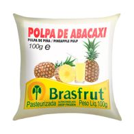 POLPA-BRASFRUT-ABACAXI-100G-------------