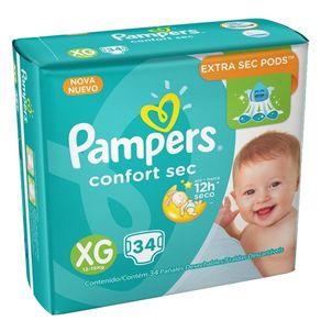FRALDA-PAMPERS-CONFORTSEC-XG-34---------