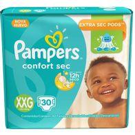 FRALDA-PAMPERS-CONFORTSEC-XXG-30--------