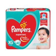 FRALDA-SUPERSEC-PAMPERS-HIPER-XG-40