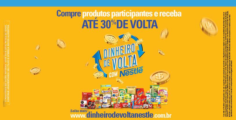 Dinheiro de Volta Nestlé