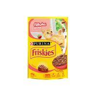 Racao-Friskies-Filhotes-Carne-Ao-Molho-Sache-85g
